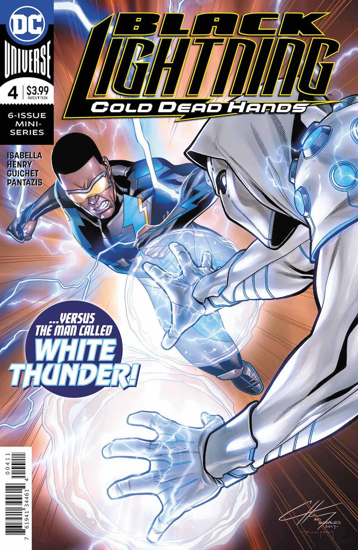 Black Lightning: Cold Dead Hands #4