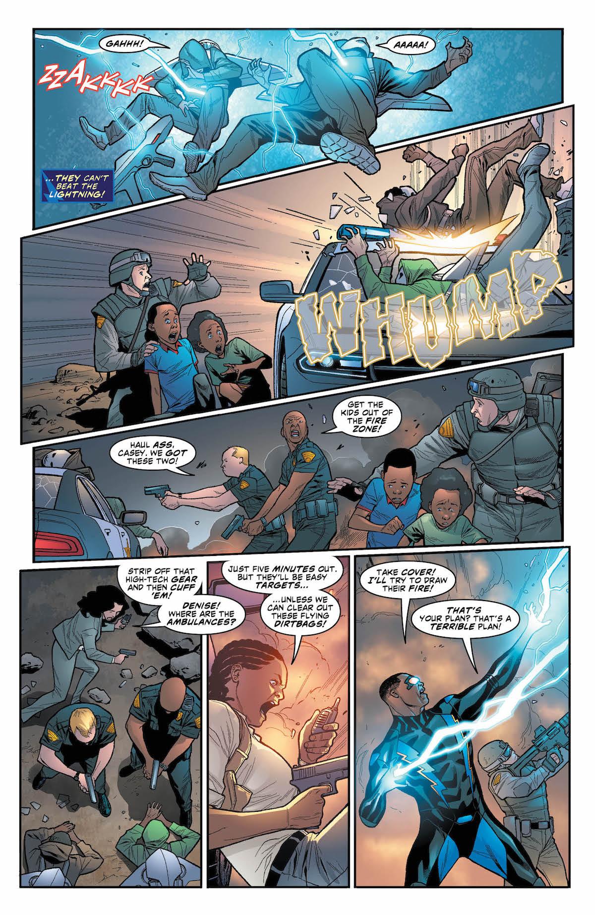 Black Lightning: Cold Dead Hands #4 page 4