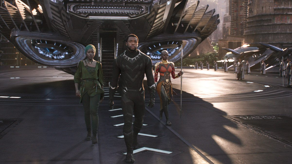 Prince T'Challa returns home to become king.