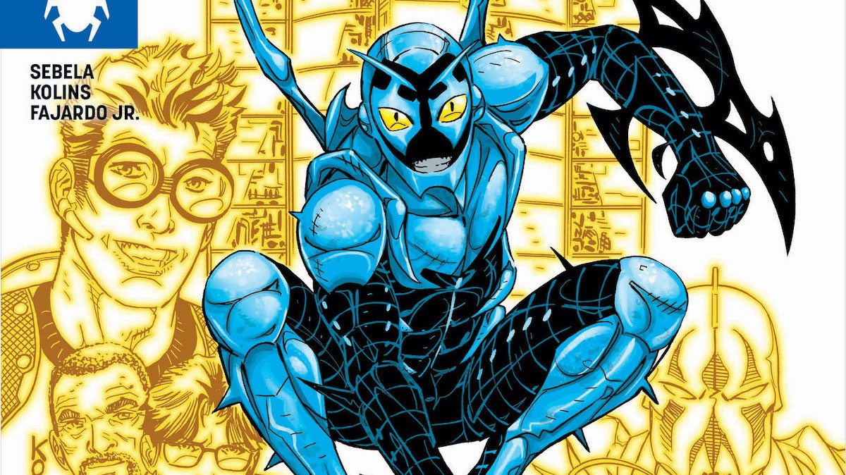 Blue Beetle #18 cover