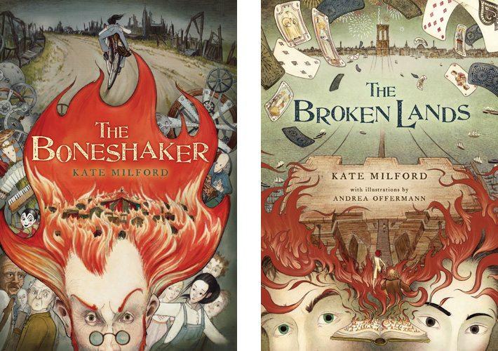 The Boneshaker and Broken Lands by Kate Milford