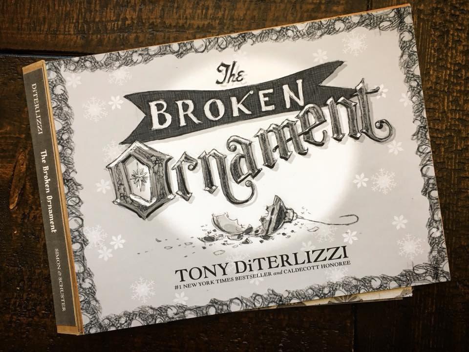 Broken Ornament galley cover