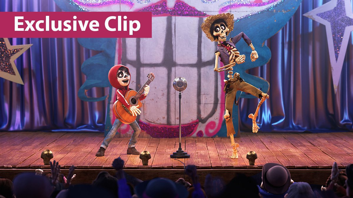 'Coco' animated film exclusive clip