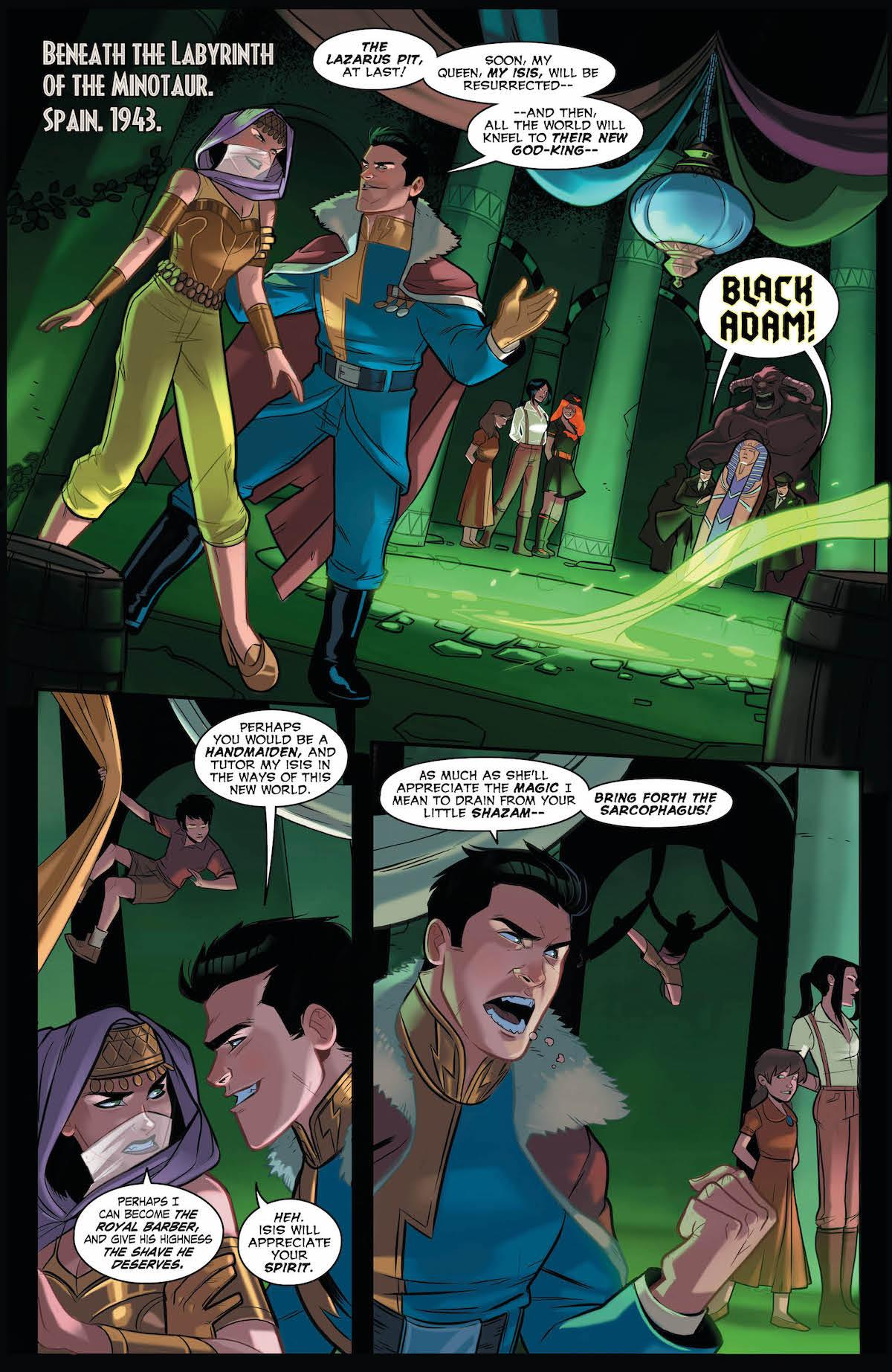 DC Bombshells United #11 page