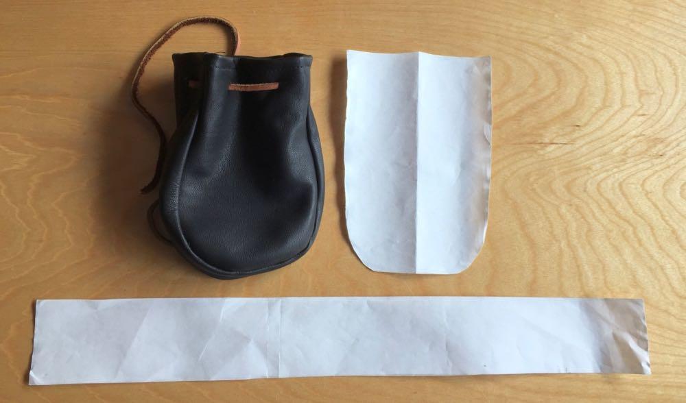 DIY Lather Dice Bag Template