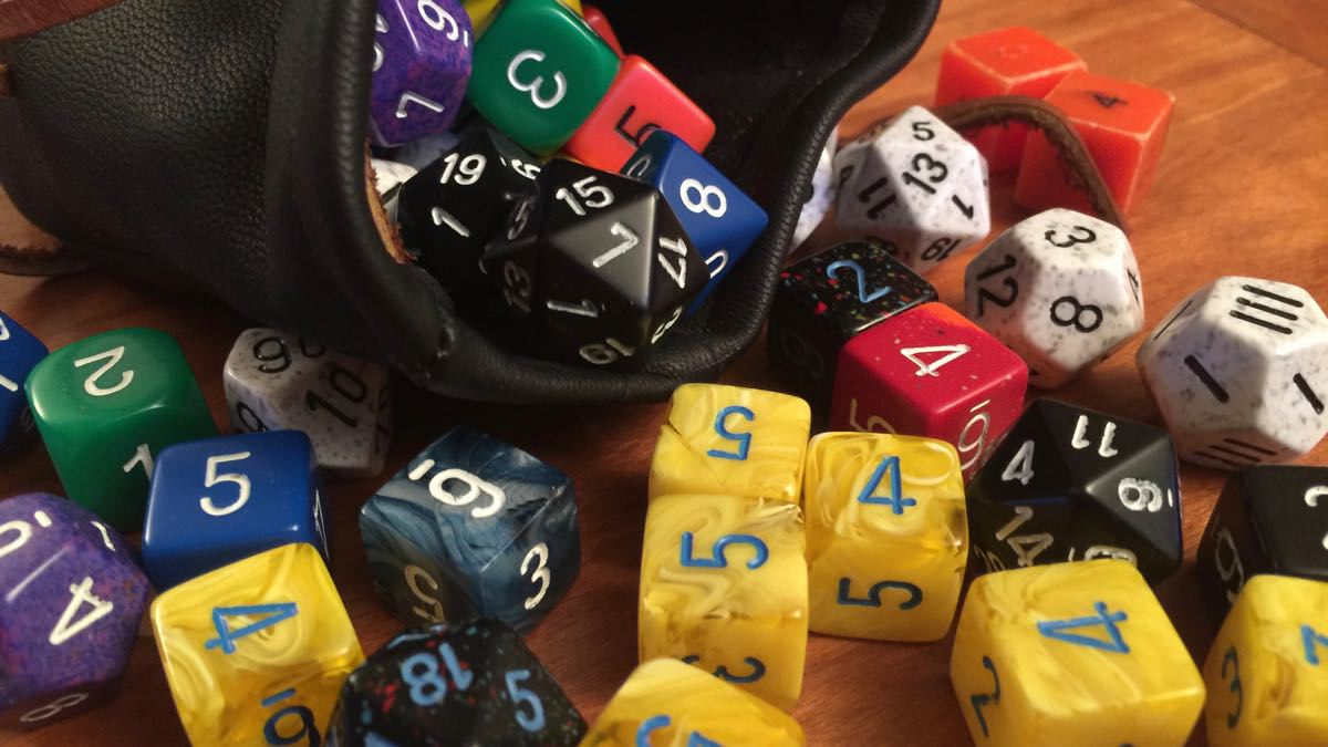 Bag of dice