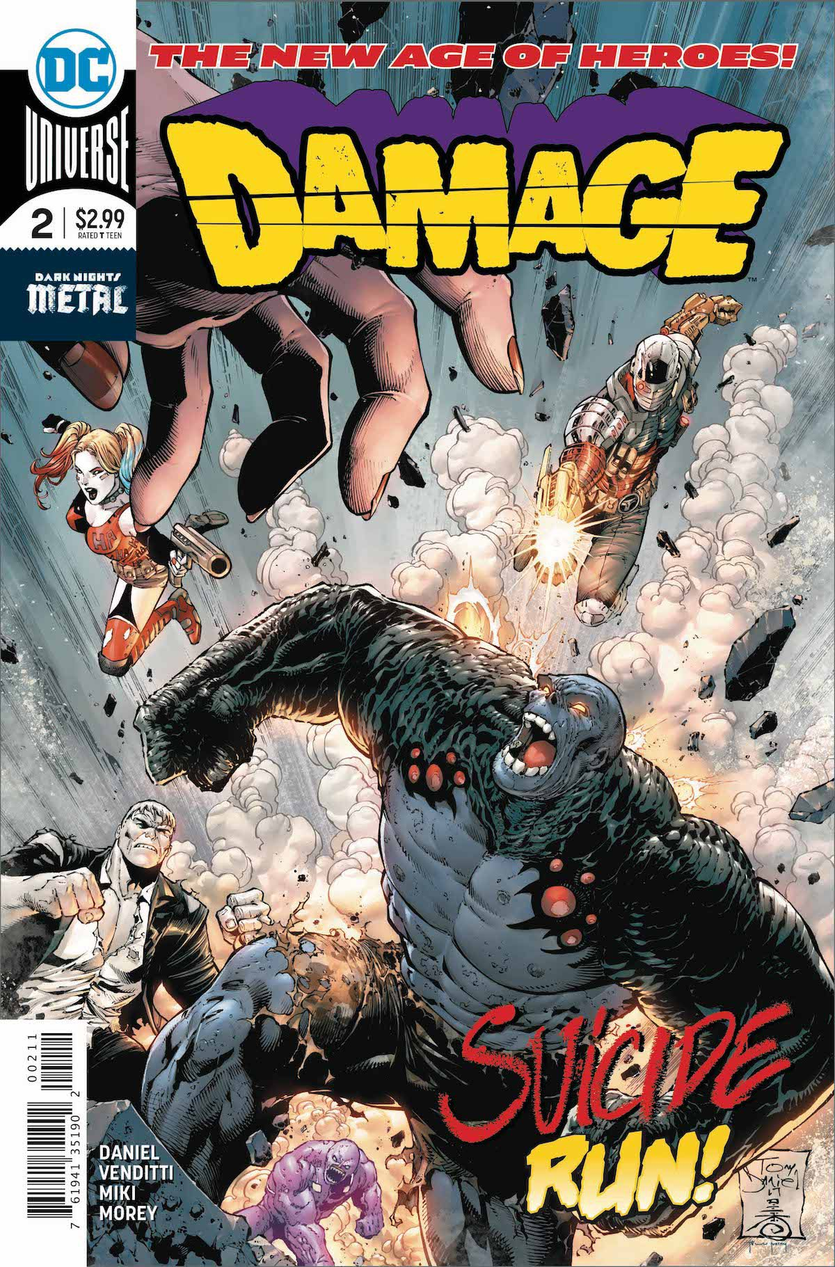 Damage #2 cover