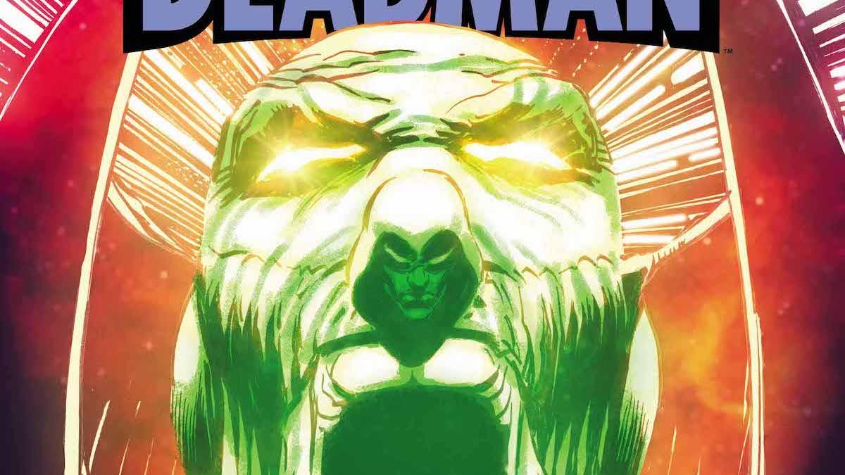 Deadman #4 cover