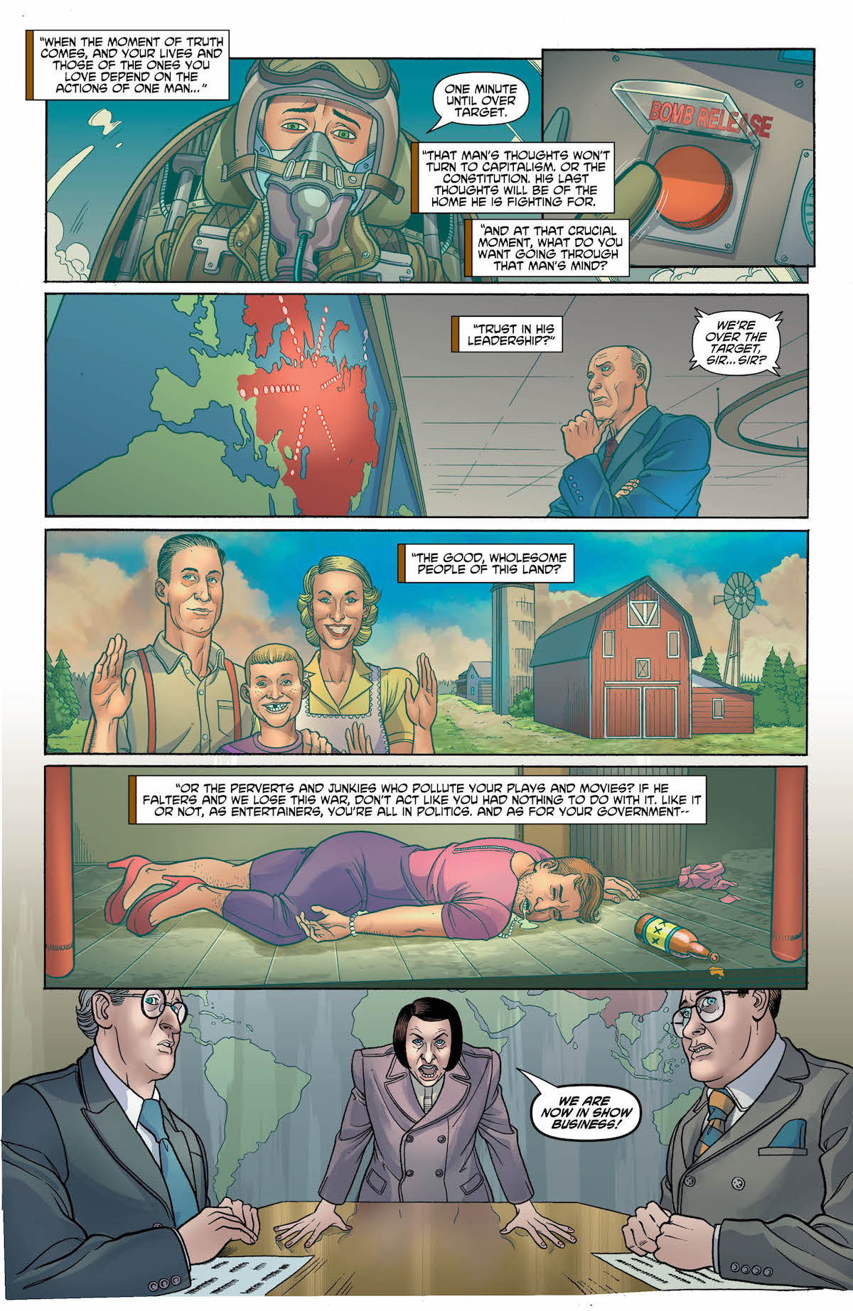 Exit Stage Left: The Snagglepuss Chronicles #2 page