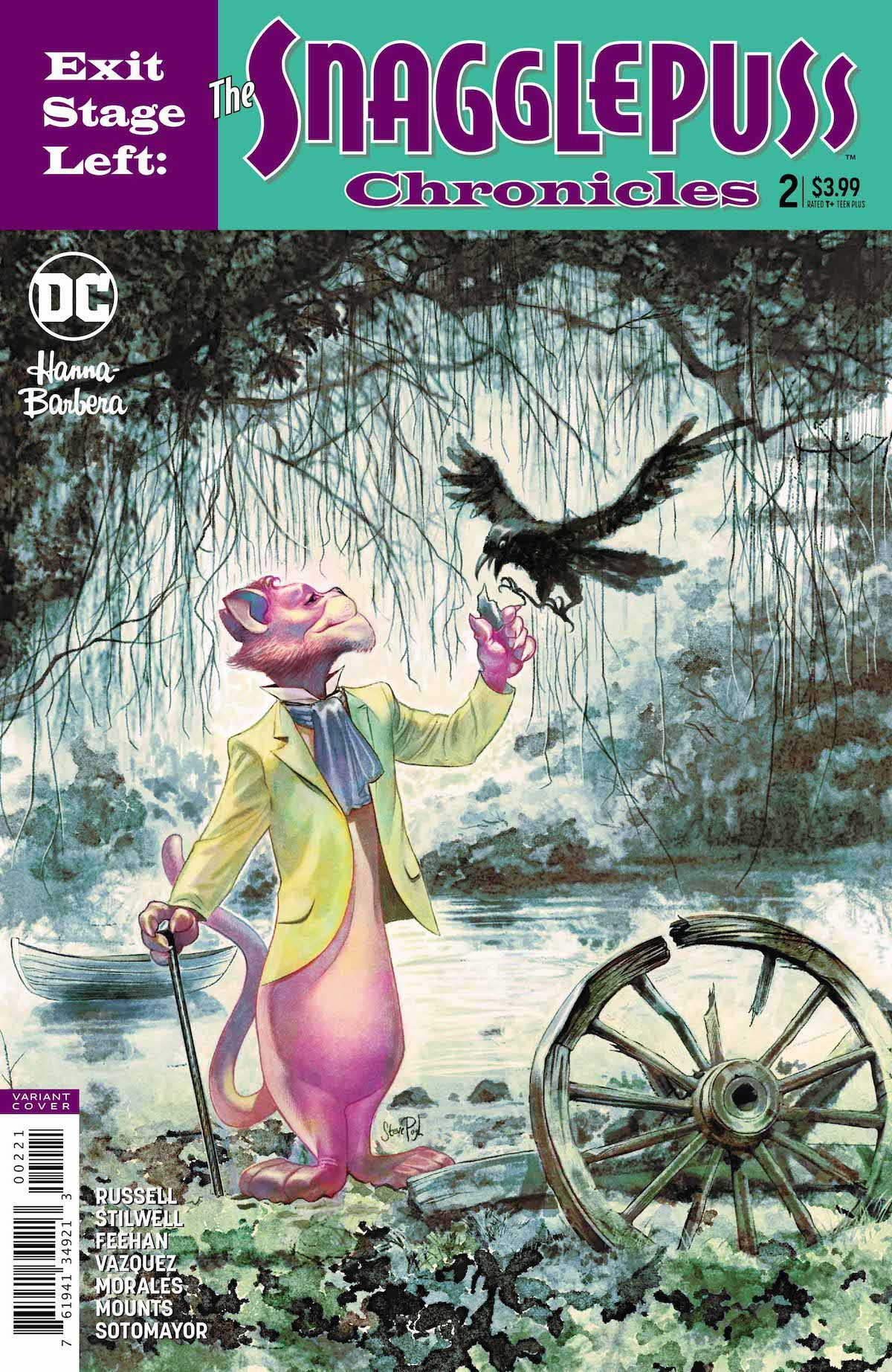 Exit Stage Left: The Snagglepuss Chronicles #2 variant cover