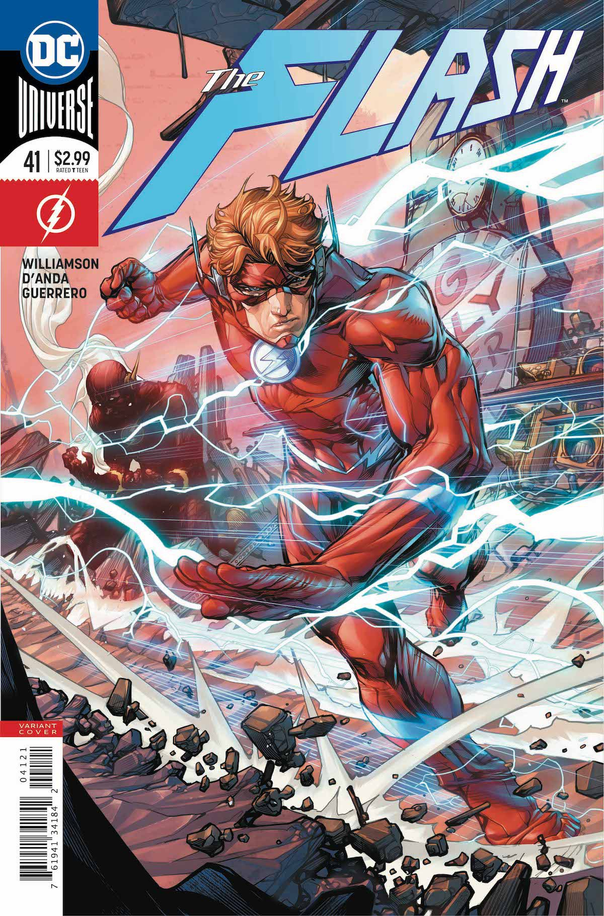 Flash #41 variant cover