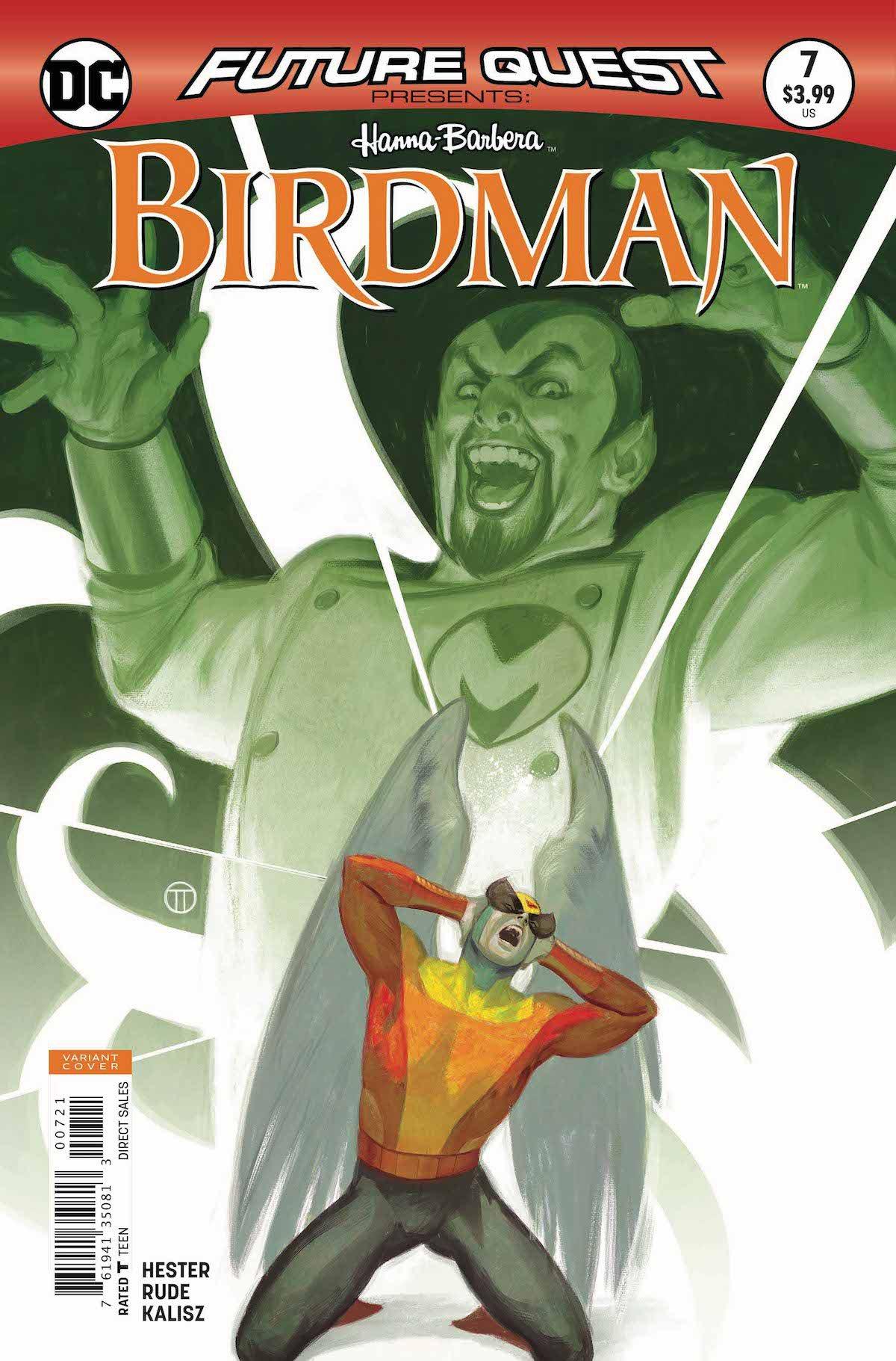 Future Quest Presents #7 Birdman variant cover