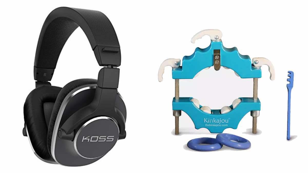 Geek Daily Deals koss hedphones bottle cutter