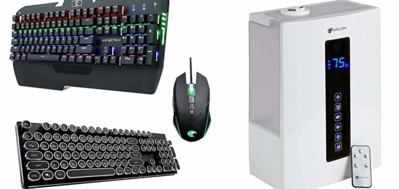 Geek Daily Deals 021318 mechanical keyboards humidifier