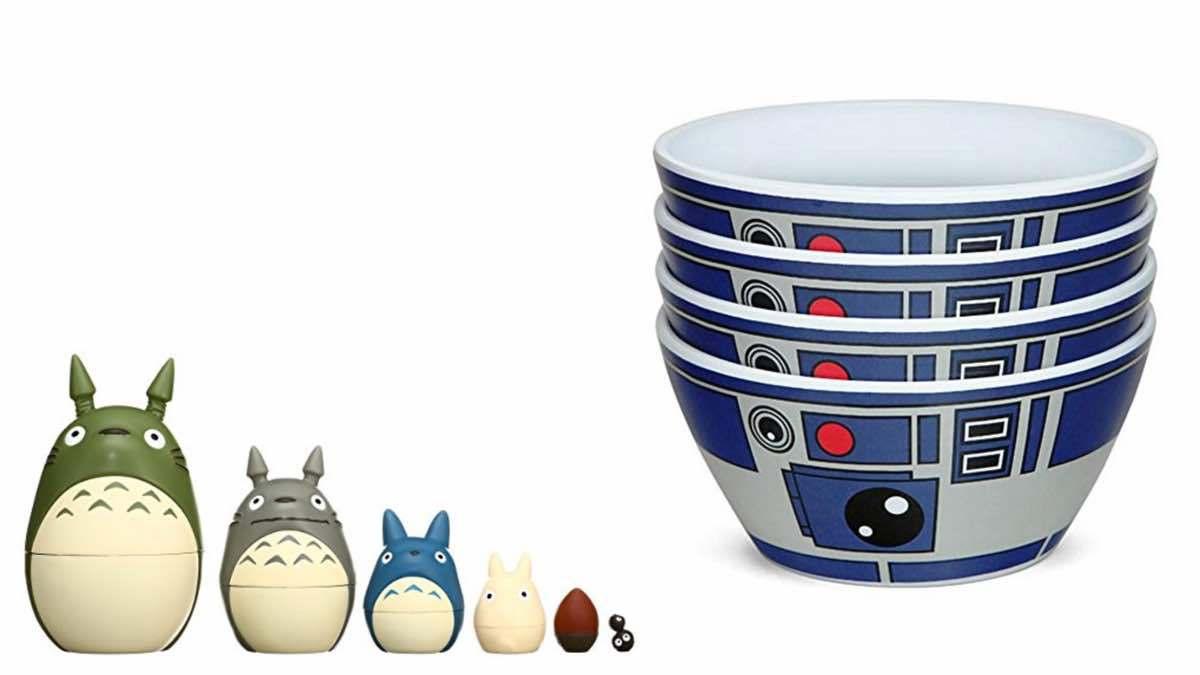 Geek Daily Deals 021418 totoro R2-D2
