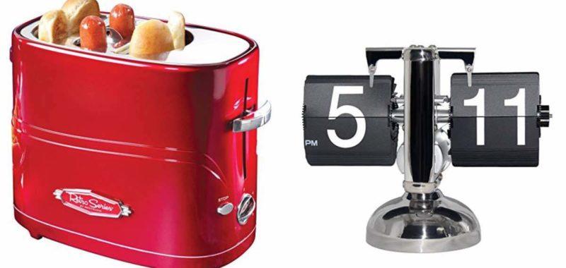 Geek Daily Deals 021518 hot dog toaster flip clock