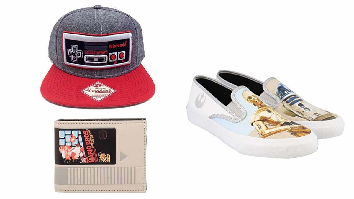 Geek Daily Deals 021818 Nintendo gear star wars shoes