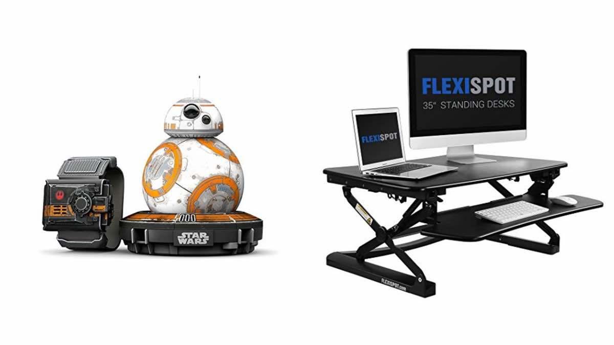 Geek Daily Deals 022318 sphero BB8 standing desk