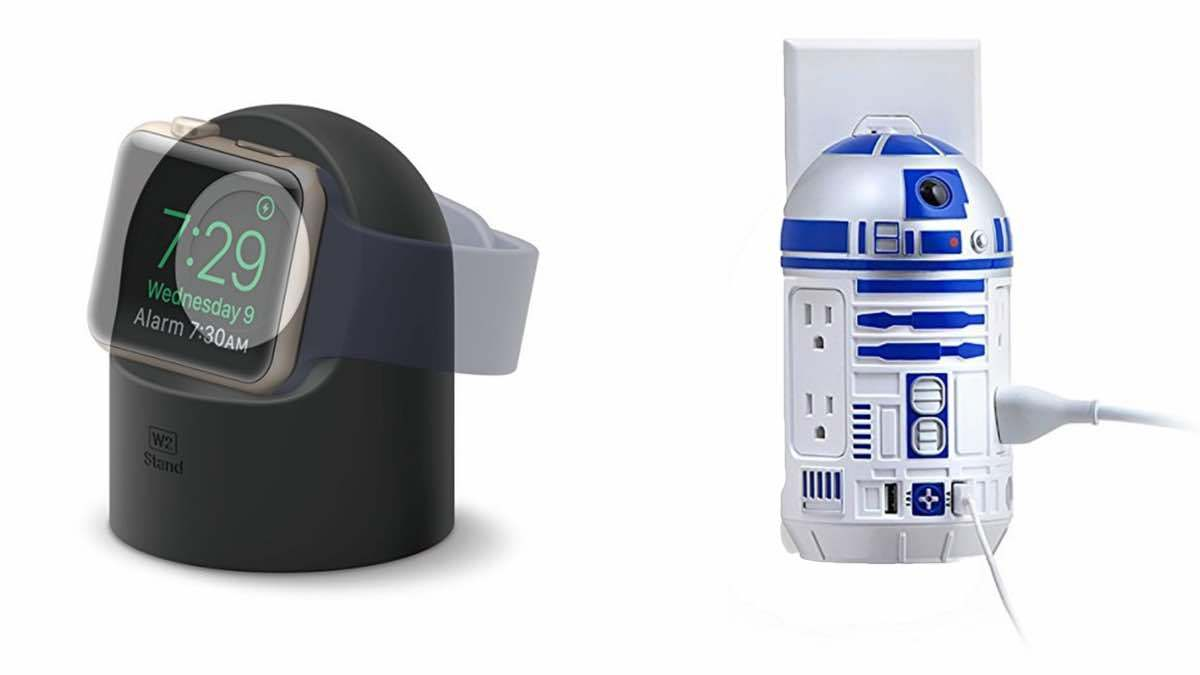 Geek Daily Deals 022718 apple watch stand R2-D2 outlet