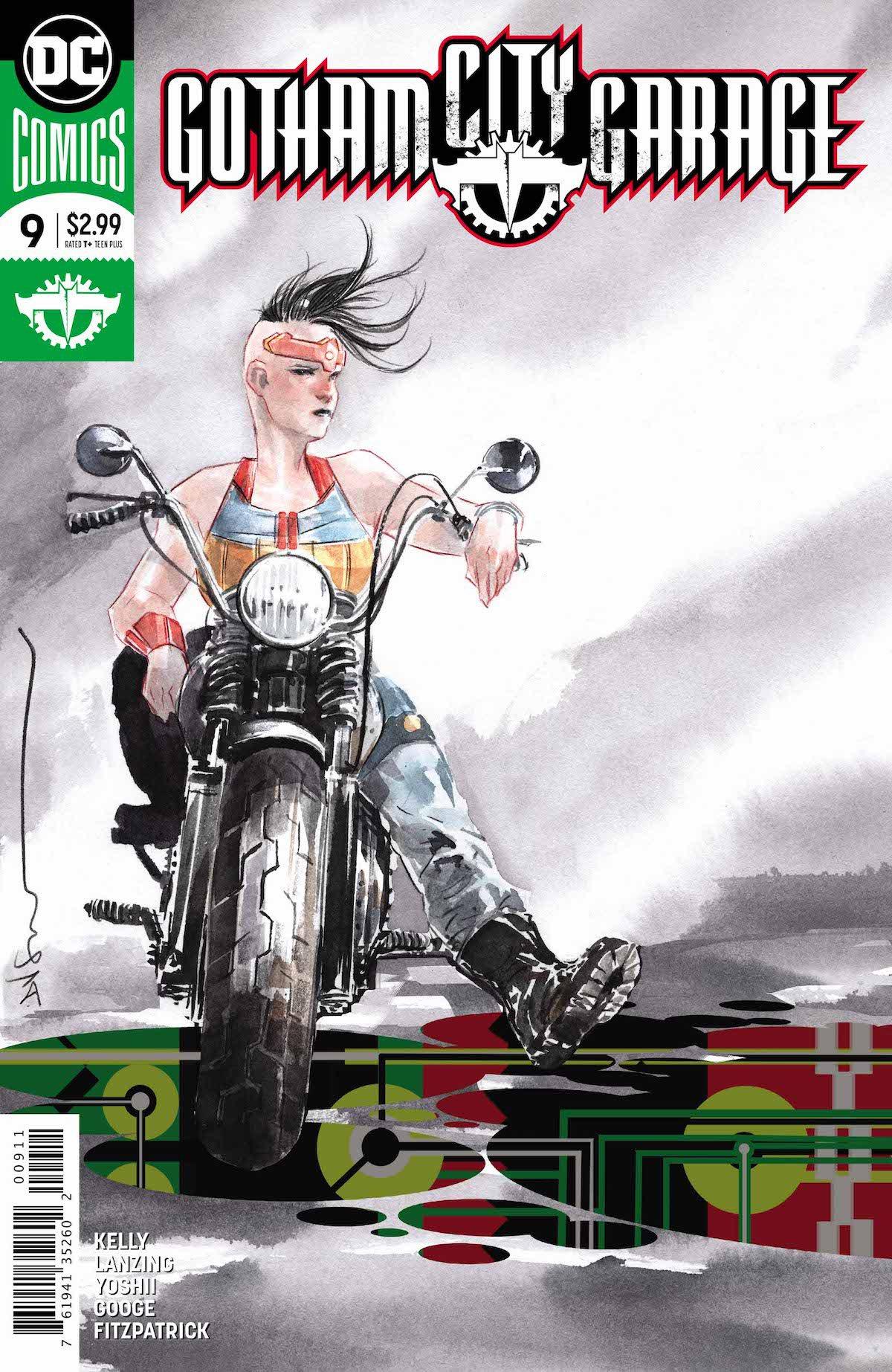 Gotham City Garage #9 cover