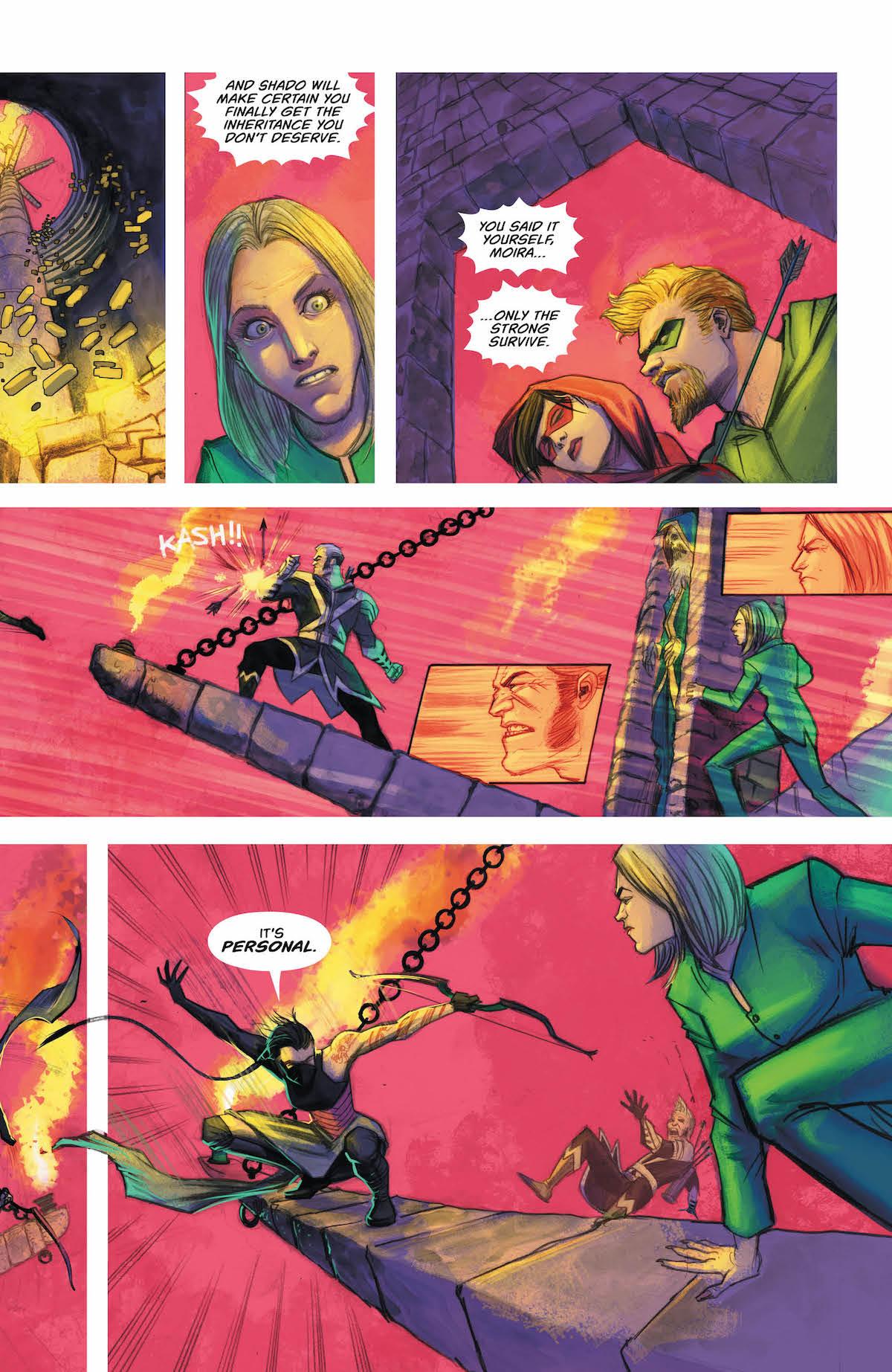 Green Arrow #37 page 5