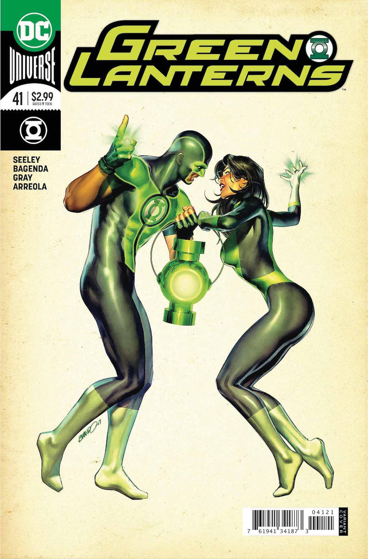 Green Lanterns #41 variant cover