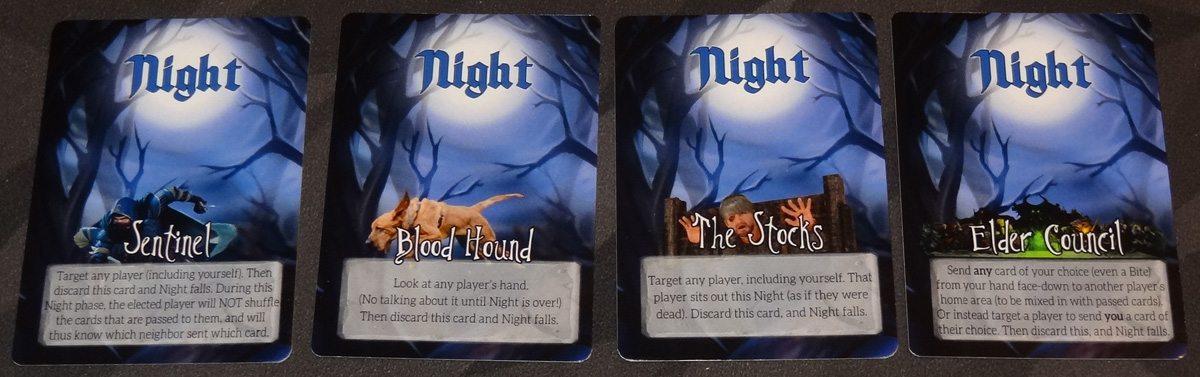 Growl Night cards