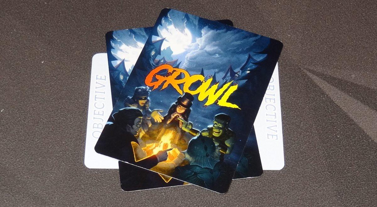 Growl passed cards