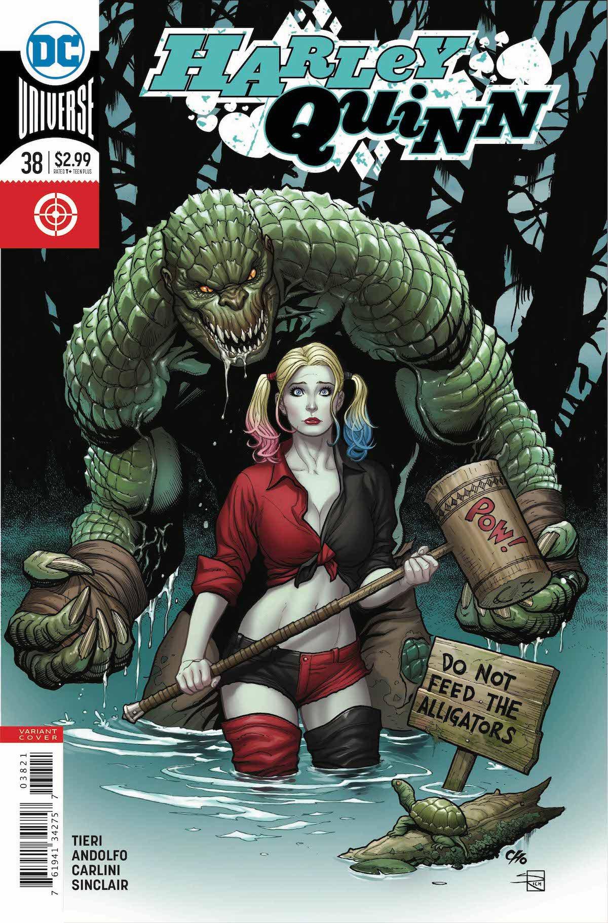 Harley Quinn #38 variant cover