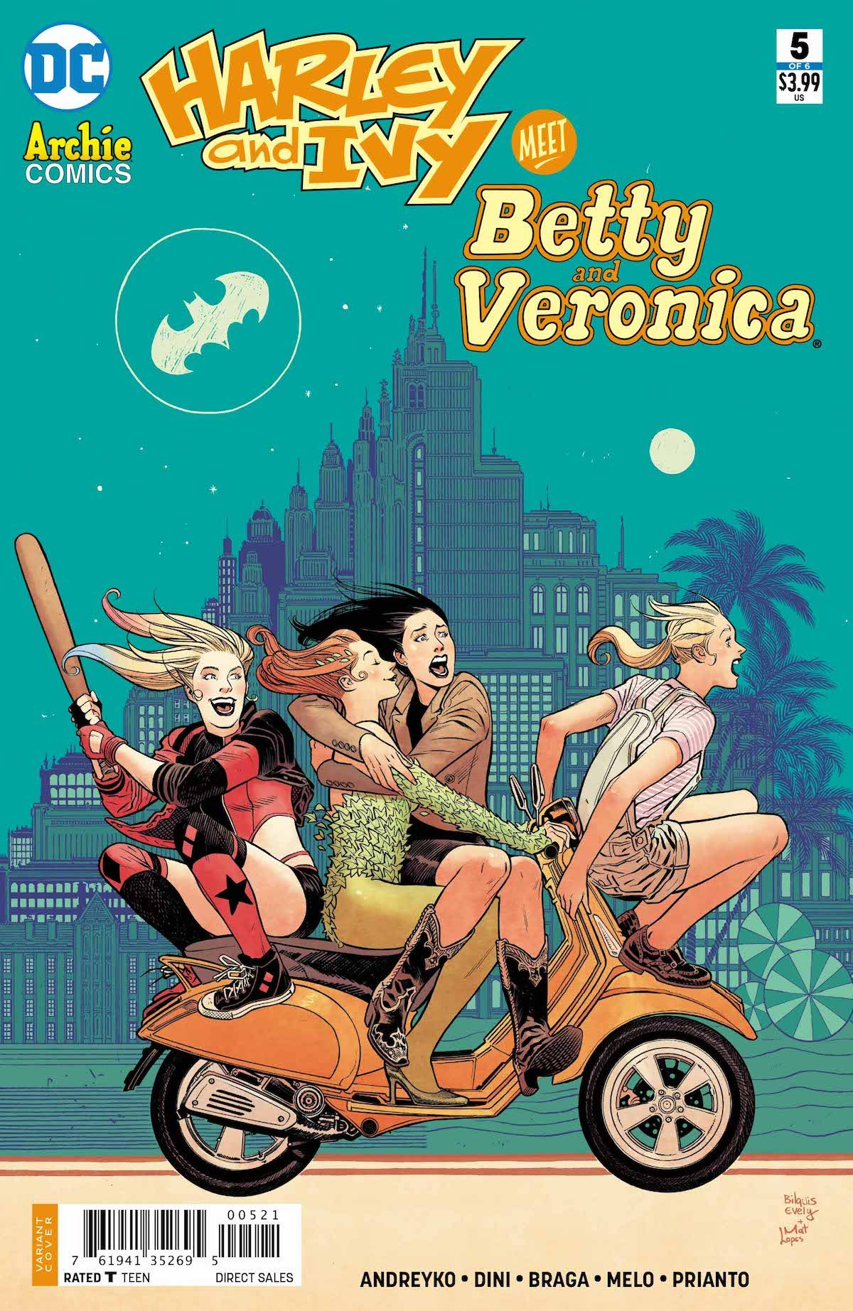 Harley and Ivy Meet Betty and Veronica #5