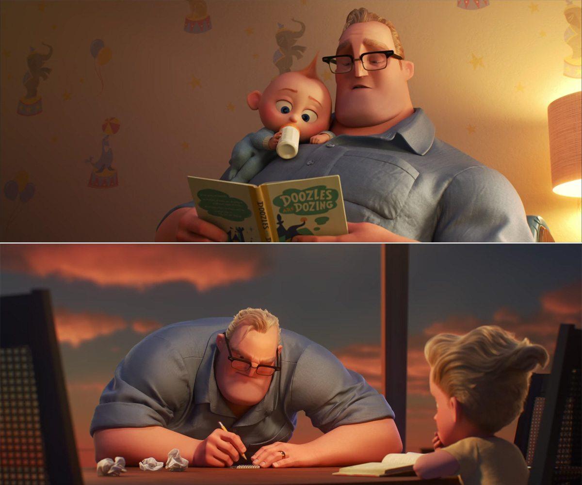Incredibles 2 screenshots - Bob Parr