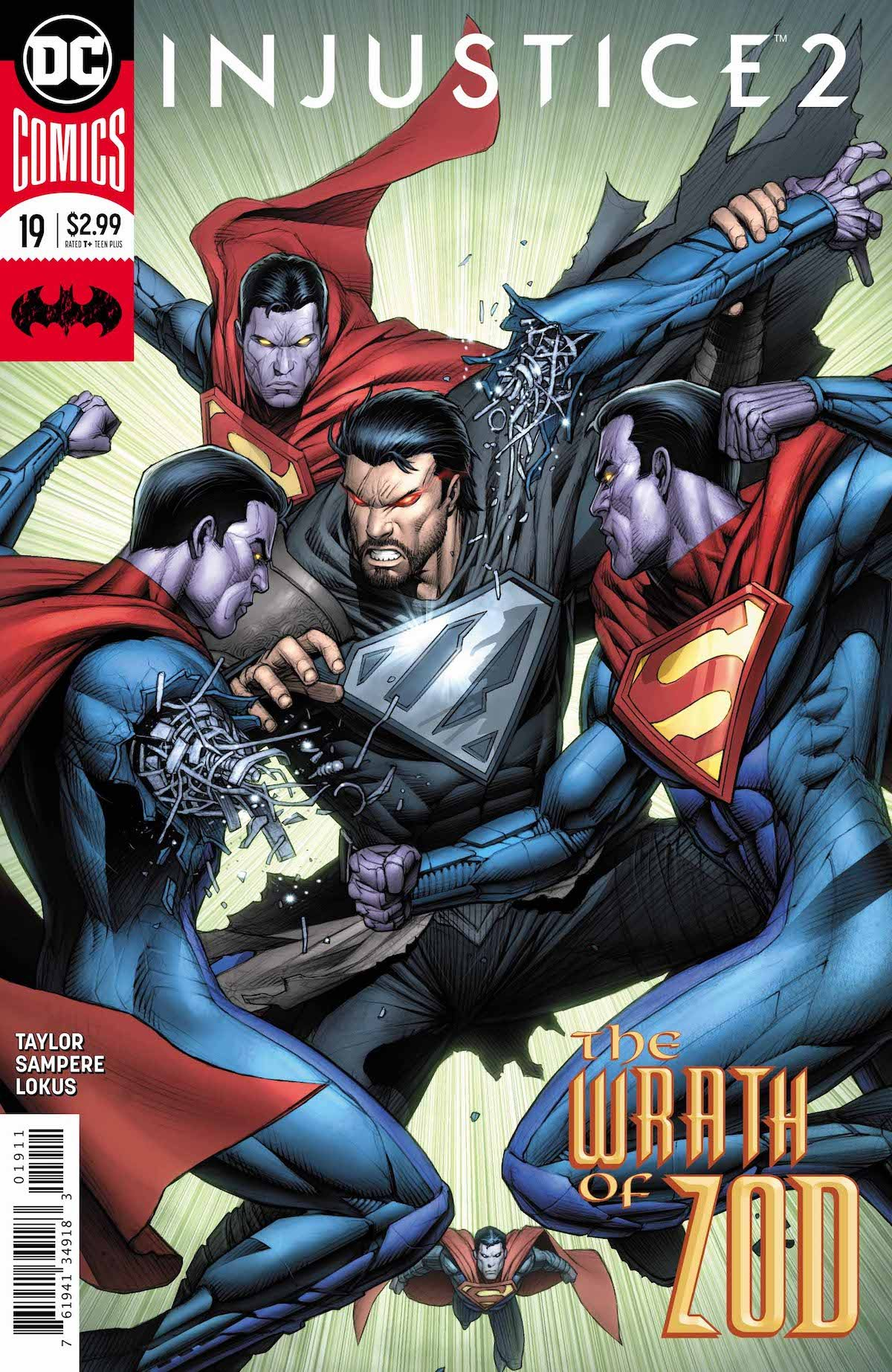 Injustice 2 #19 cover