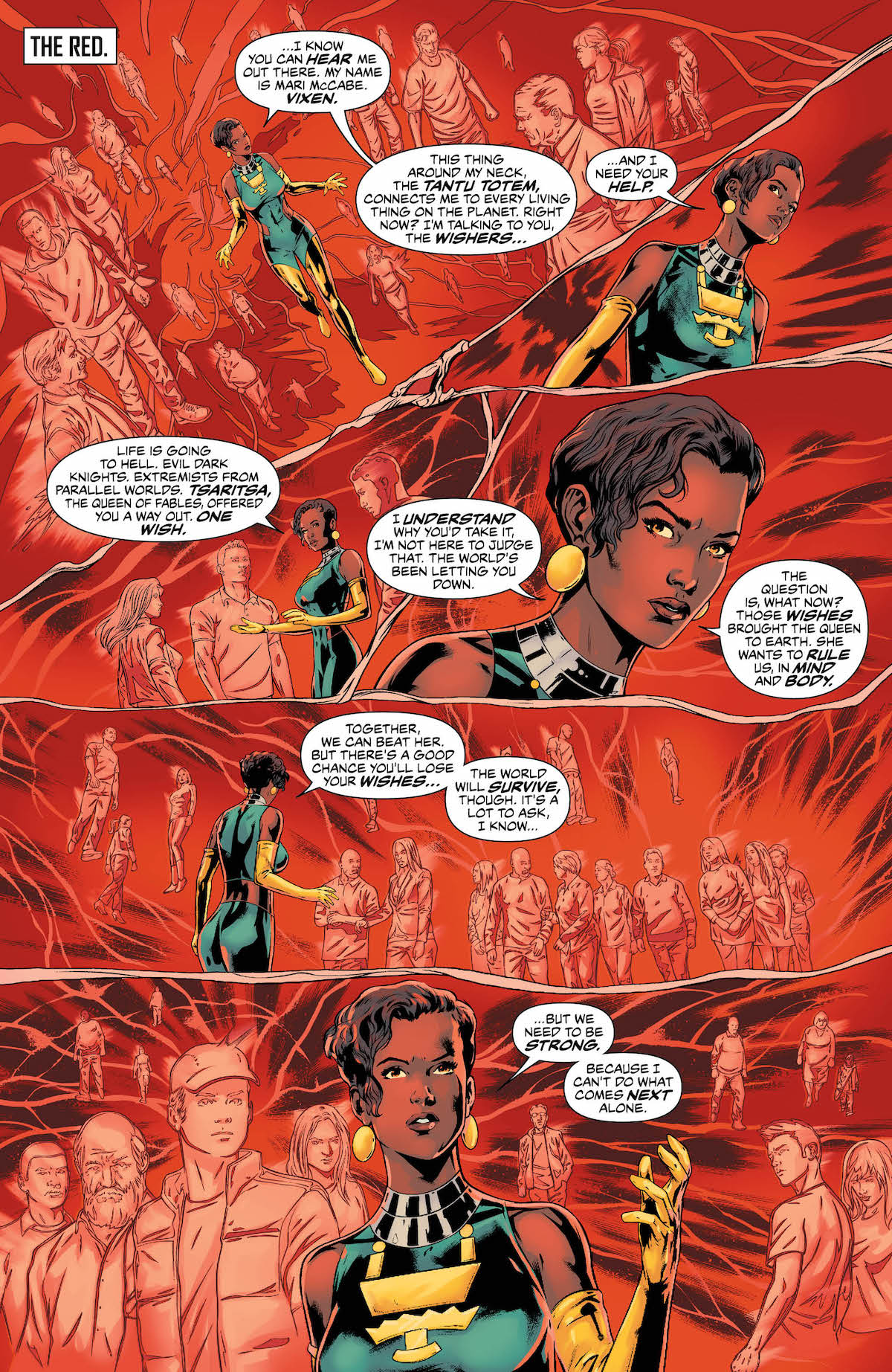 Justice League of America #24 page 1