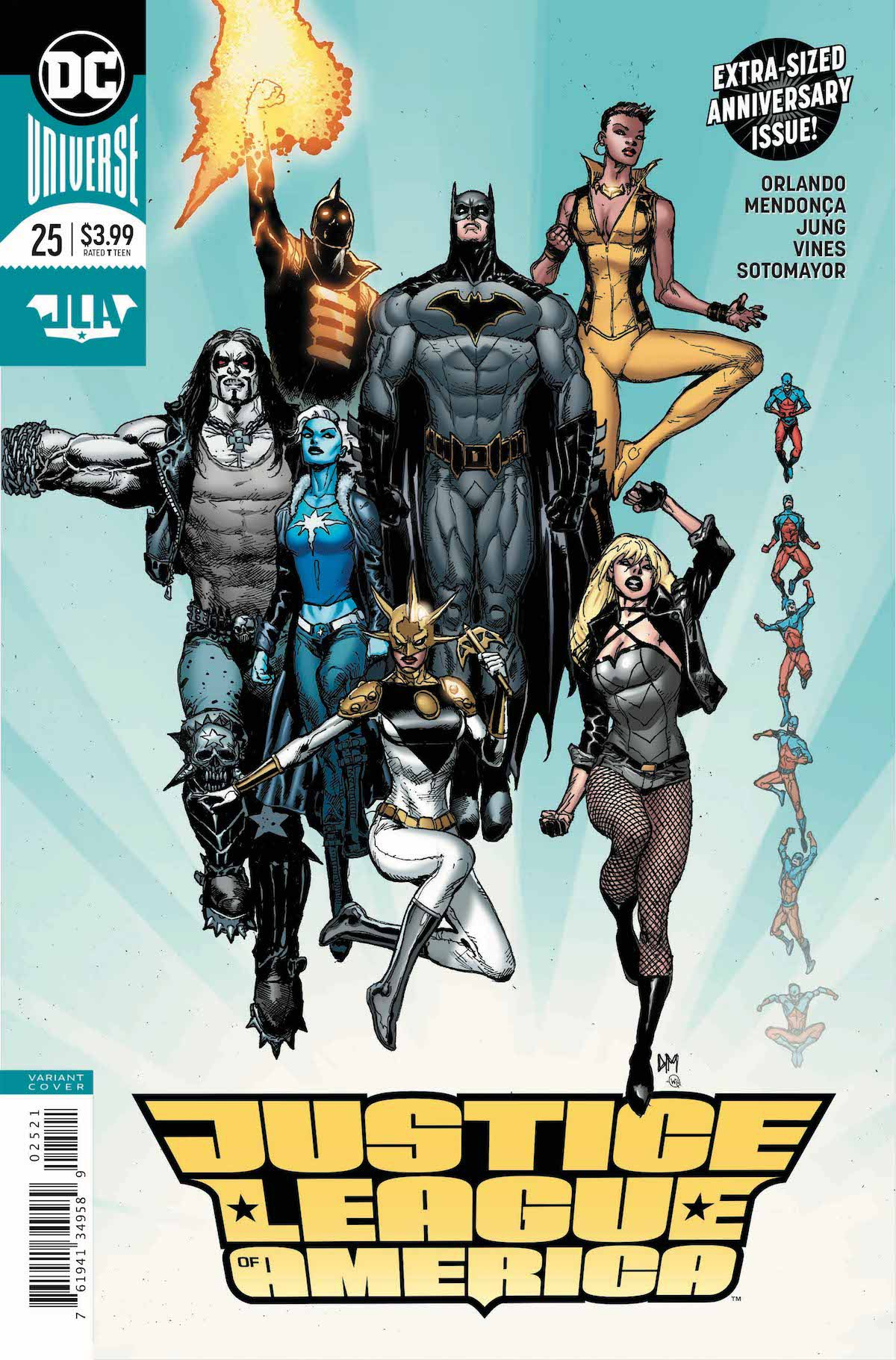 Justice League of America #25 variant cover