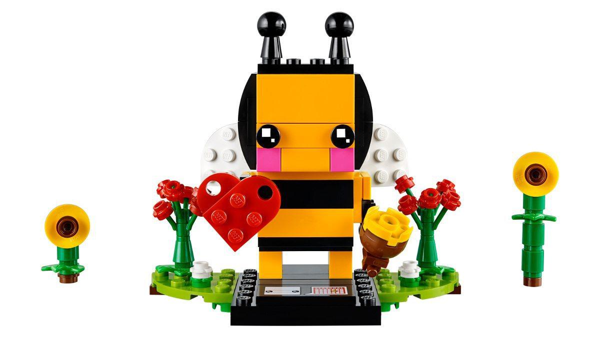 LEGO Valentine Bee