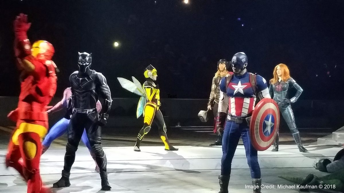 """New heroes join forces in """"Marvel Universe LIVE!""""."""