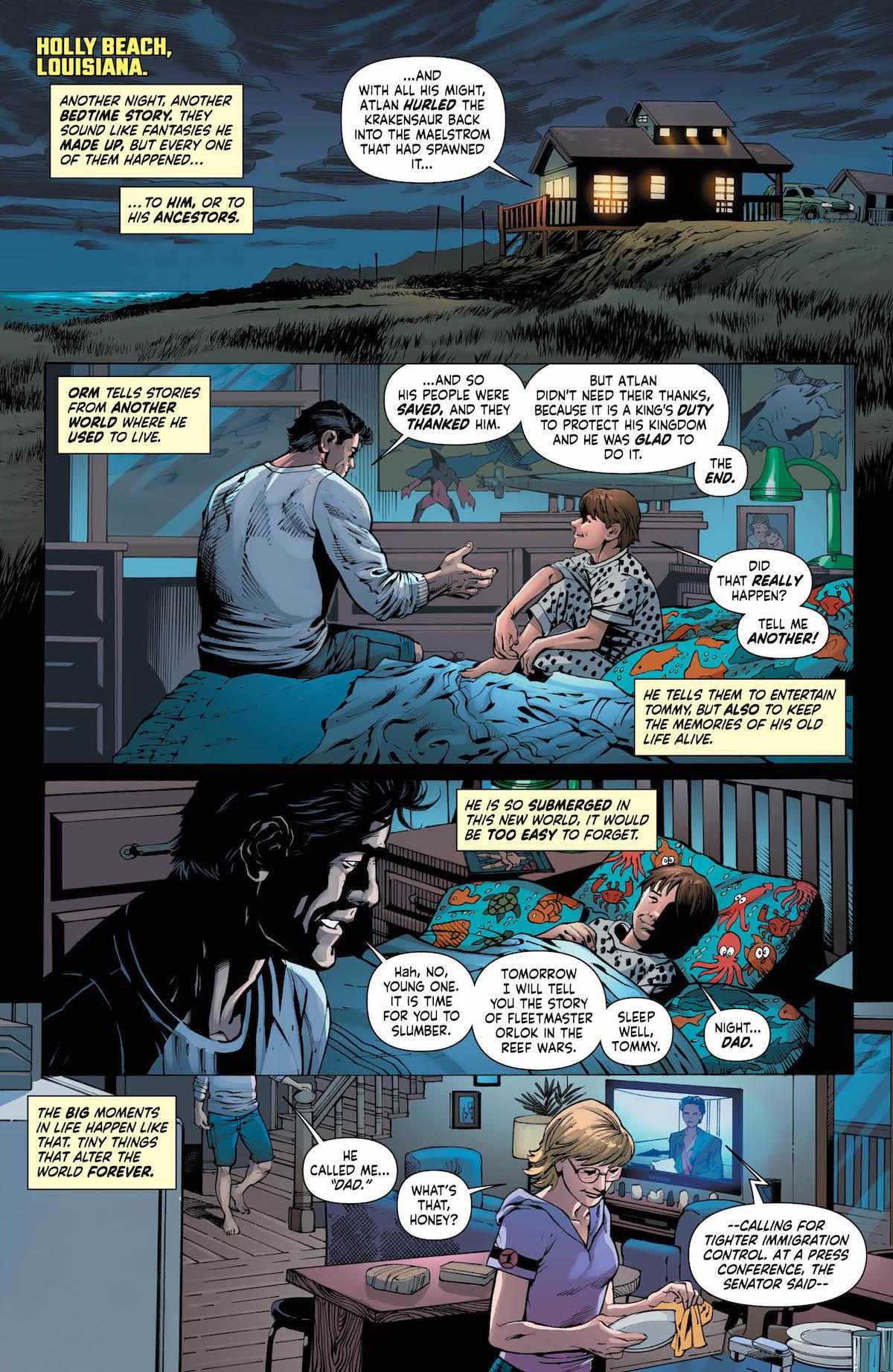 Mera Queen of Atlantis #1 page 1