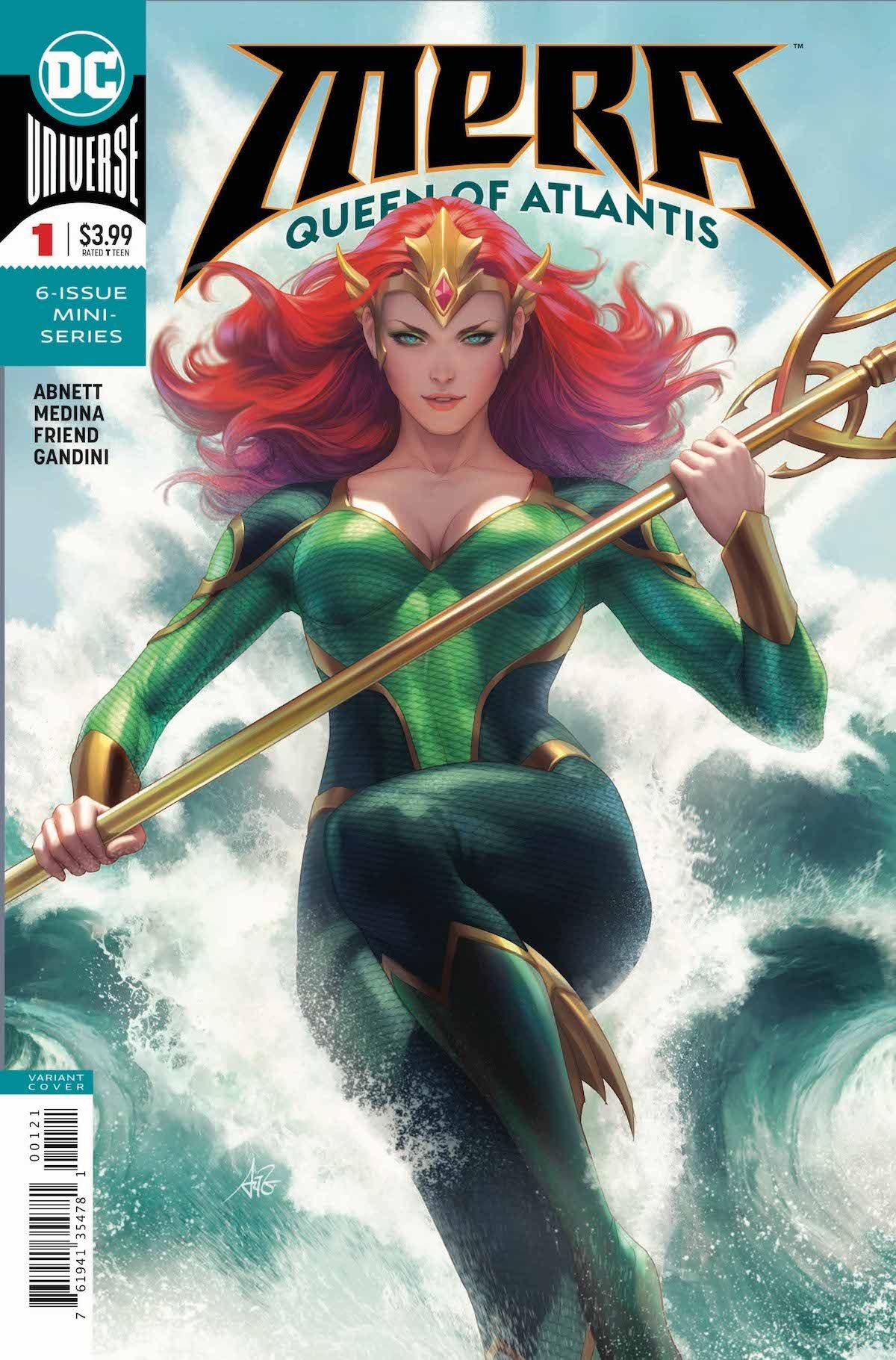 Mera Queen of Atlantis #1