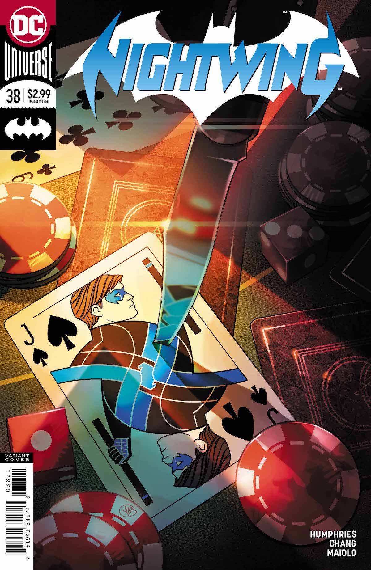 Nightwing #38 cover
