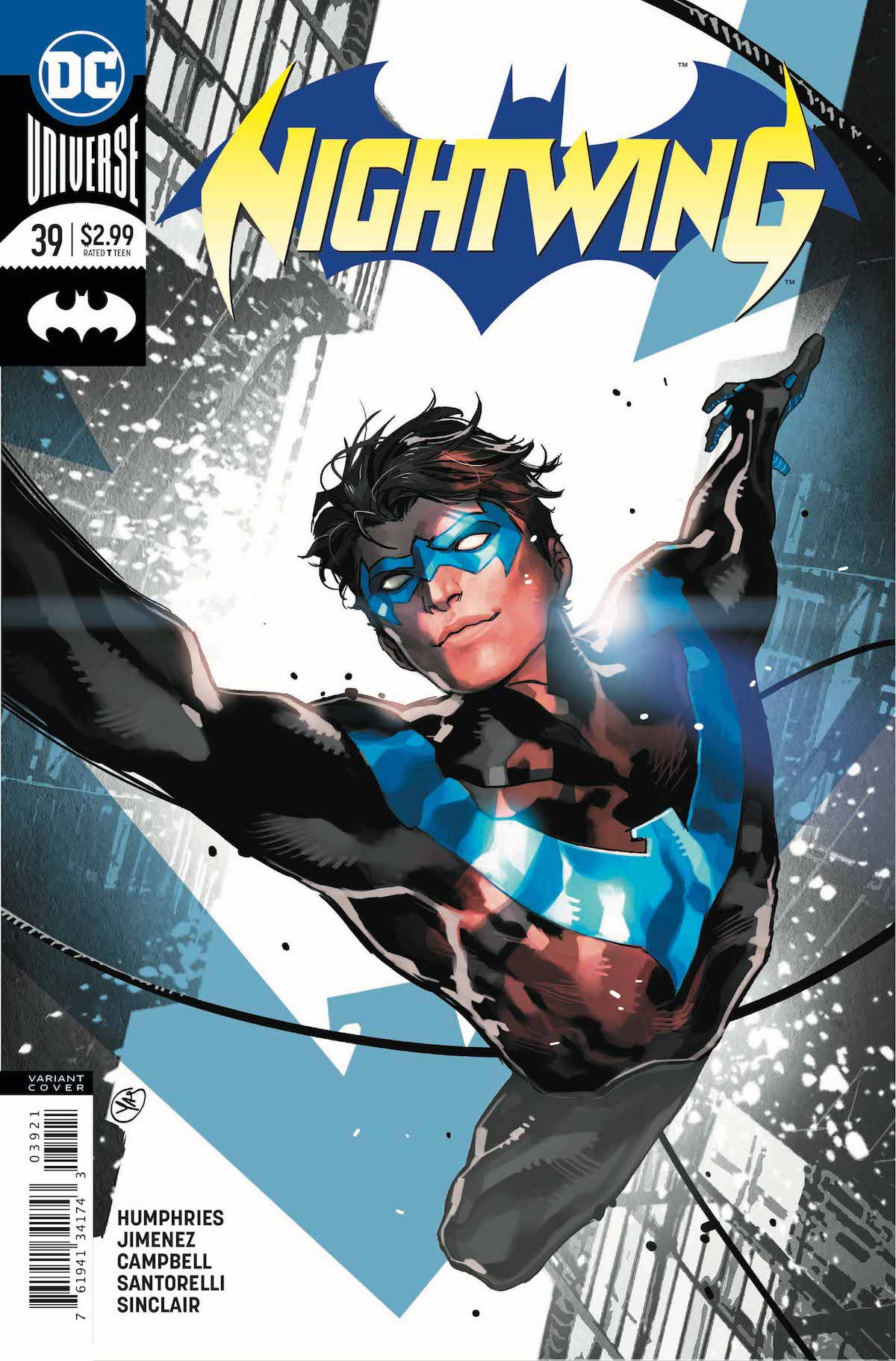 Nightwing #39 variant cover