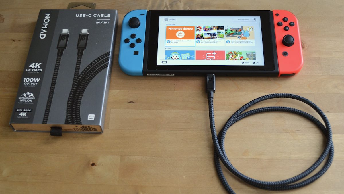 Nomad USB-C cable review