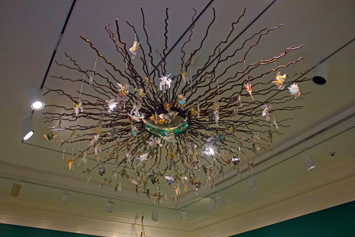 Fairy mobile at Norman Rockwell Museum