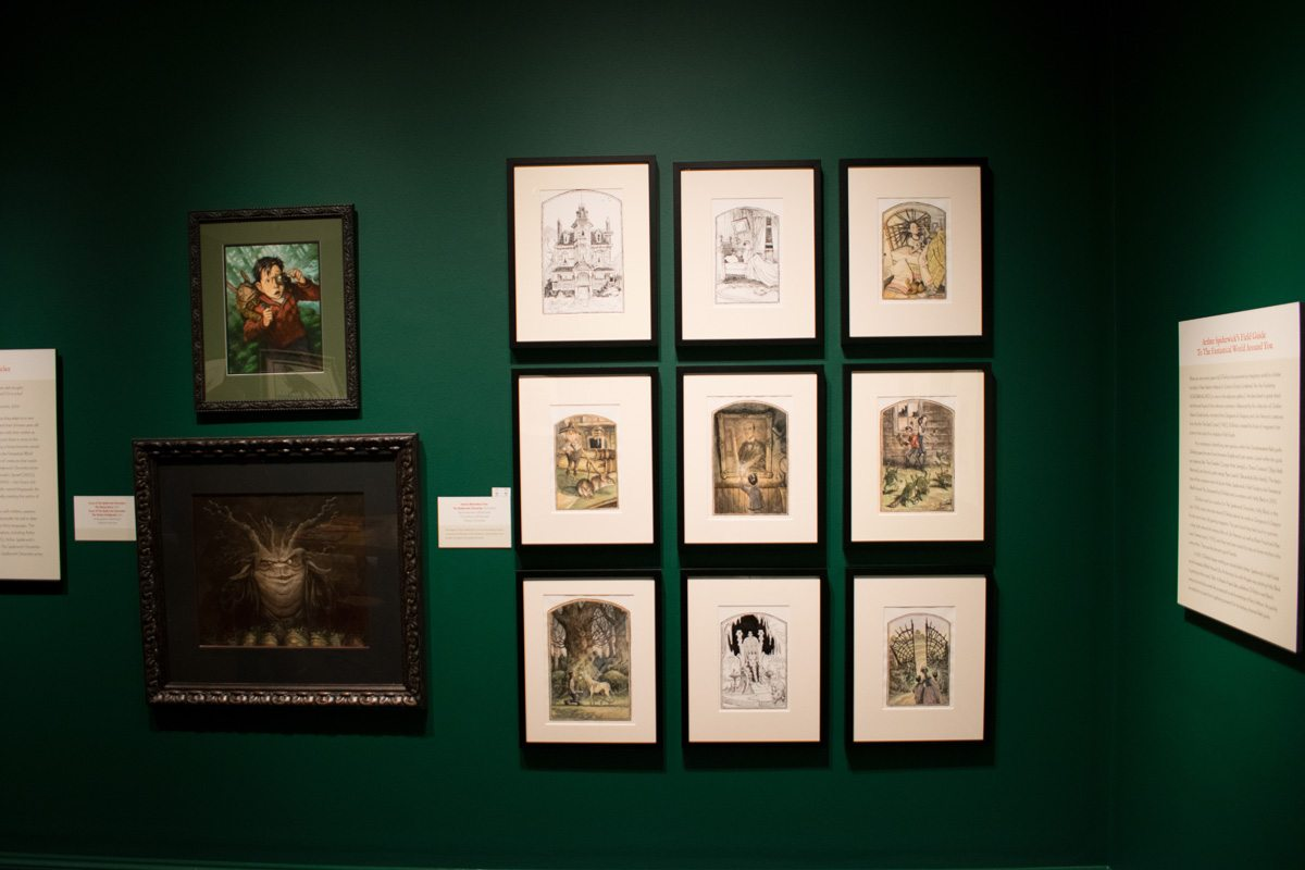 DiTerlizzi's Spiderwick Chronicles artwork at Norman Rockwell Museum
