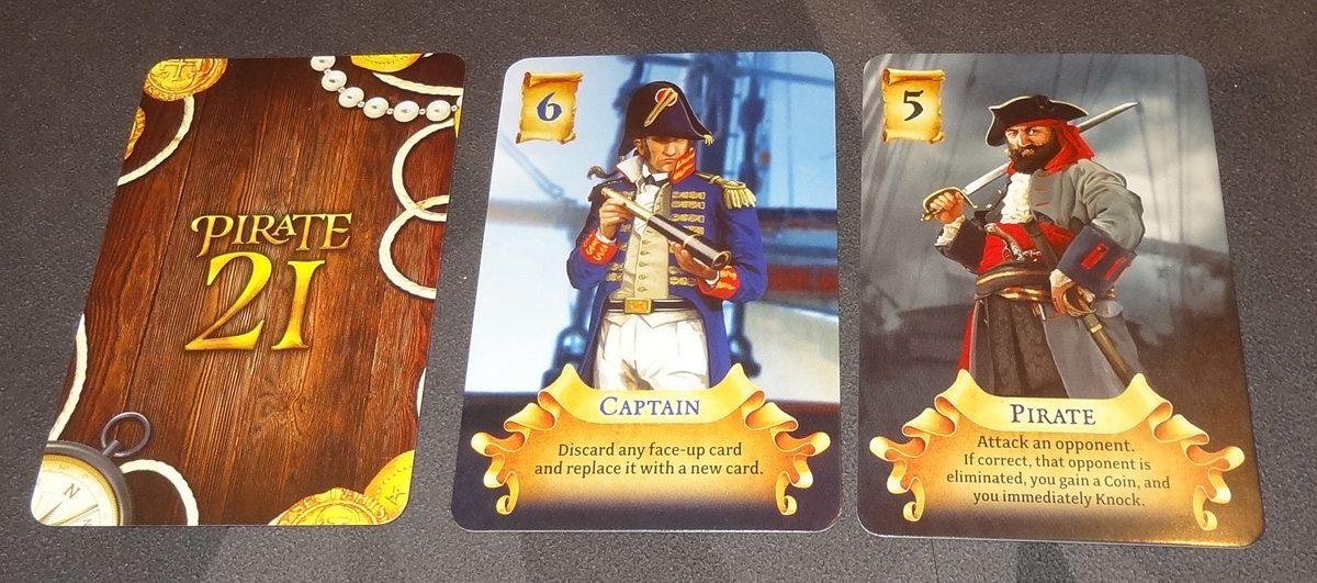 Pirate 21 cards