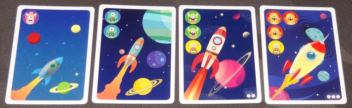 Planetopia cosmos alien cards