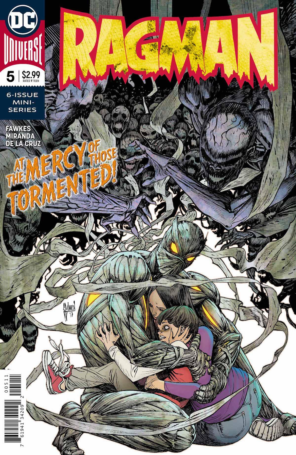Ragman #5 cover