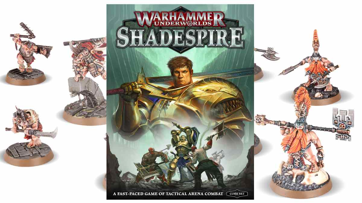 Playing Warhammer Underworlds Shadespire