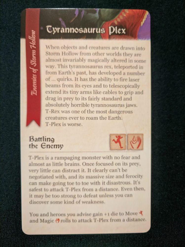 Storm Hollow Enemy Card Tyrannosaurus Plex