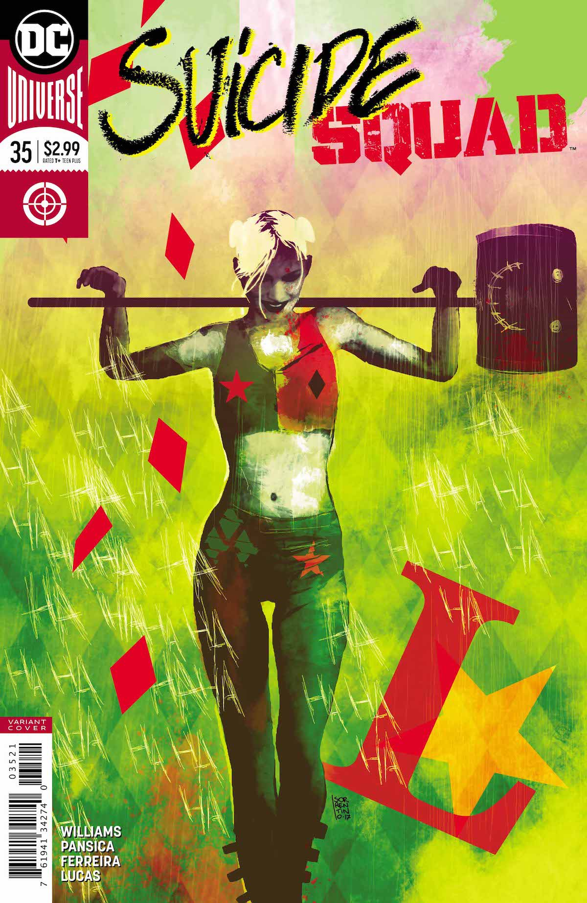 Suicide Squad #35 variant cover
