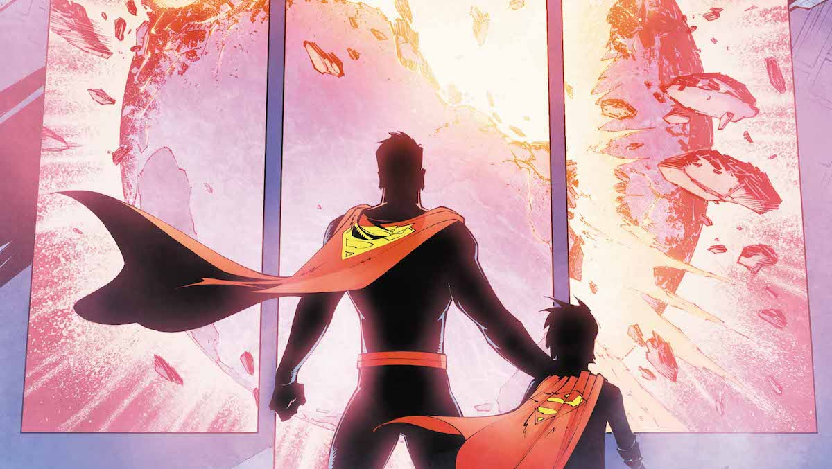 Superman #40 cover